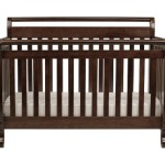 DaVinci Emily 4 in 1 Crib with Toddler Rail, Espresso