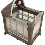 GracoTravel Lite Crib With Stages, Notting Hill
