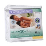 AllerZip Waterproof Bed Bug Proof Zippered Bedding Encasement, King DEEP Size (Fits 11 – 18 in. H)