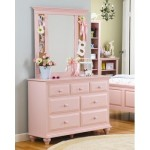 Lang Furniture LTL-MAD-748 Madison 7-Drawer Kids Dresser Finish: Blush Pink
