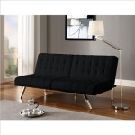 Dorel Home Products Emily Splitback Futon, Black