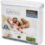 Twin Size SafeRest Premium Hypoallergenic Waterproof Mattress Protector – Vinyl Free