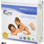 Twin Size Luna Premium Hypoallergenic 100% Waterproof Mattress Protector – 10 Year Warranty – Made In The USA