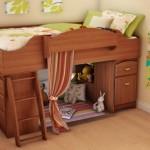 South Shore Loft Bed Imagine Collection, Morgan cherry