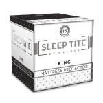 SLEEP TITE by Malouf Mattress Protector – 100% Waterproof-Eliminates Dust Mites -15 Year Warranty