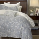 Harbor House Chelsea Paisley Full/Queen Duvet Cover Mini Set, Pewter Blue