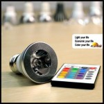 Color Changing Light Bulb With Remote