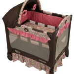 Graco Travel Lite Crib, Jacqueline
