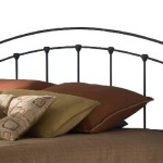 Fashion Bed Group Sanford Queen Size Headboard in Matte Black Finish