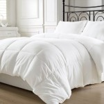 Chezmoi Collection Super Soft White Goose Down Alternative Comforter (Duvet Cover Insert) Twin Size w/ Corner Tabs