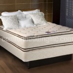 Coil Comfort Pillowtop Queen Size Mattress and Box Spring Set