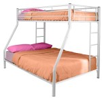 Walker Edison Twin-Over-Full Bunk Bed, White