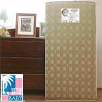 L.A. Baby Soy Foam Crib Mattress Extra Firm Infant Side Comfortable 2 in 1