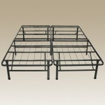 Sleep Master – Platform Metal Bed Frame/Foundation (Queen) – Perfect for Spring, Latex, and Memory Foam Mattresses