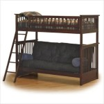 Columbia Twin Over Futon Bunk Bed Configuration: Twin Over Futon Bunk Bed Only, Finish: Caramel Latte