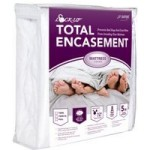 JT Eaton 81QUENC Bed Bug Lock-Up Total Encasement Mattress Cover, Queen