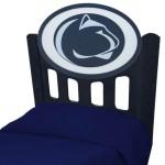 Penn State Nittany Lions NCAA Black Headboard (Twin Size)