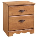 South Shore Furniture, Prairie Collection, Night Table, Country Pine