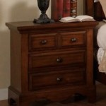 Night Stand in Cherry Oak Finish by Furniture of America