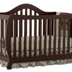 Stork Craft Monza I Fixed Side Convertible Crib, Espresso