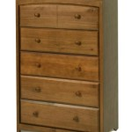 Stork Craft Beatrice 5 Drawer Chest, Oak