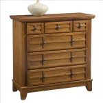Home Styles 5180-41 Arts and Crafts Four Drawer Chest, Cottage Oak Finish