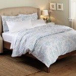 Pinzon 100-Percent Printed Cotton Full/Queen Duvet Set, Paisley