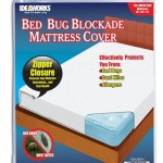 New 3-Zippered Dust Bed Bug Mite Barrier Mattress Cover Queen Size Protector (Authentic Licensed Products)