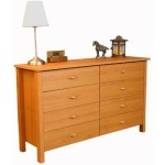 Eight Drawer Dresser Finish: Oak