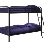 Dorel Home Products Twin-Over-Twin Bunk Bed, Black