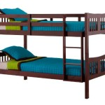 Stork Craft Caribou Bunk Bed, Cherry