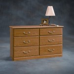 Orchard Hills Six Drawer Dresser Carolina Oak Finish