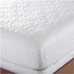 Bedsack Classic Mattress Pad King Size, White
