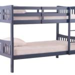 Stork Craft Caribou Bunk Bed, Navy