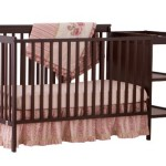 Stork Craft Milan 2-in-1 Fixed Side Convertible Crib and Changer, Espresso