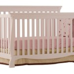 Stork Craft Venetian 4-in-1 Fixed Side Convertible Crib, White