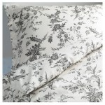 Ikea Alvine Kvist 3pc Queen Duvet-Cover 100-Percent Cotton, Sateen