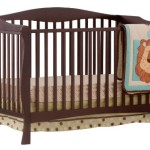 Stork Craft Savona Fixed Side Convertible Crib, Espresso