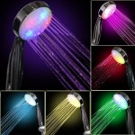 7 COLOR LED SHOWER HEAD ROMANTIC LIGHTS WATER HOME BATH – Xmas day