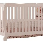 Stork Craft Monza II Fixed Side Convertible Crib, White