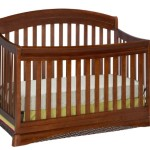 Delta Enterprise Corp Silverton 4 In 1 Crib, Dark Cherry