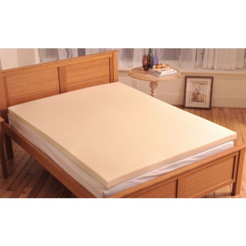 Comfort Zone Memory Foam Mattress Topper – 3 inches – King [82-10576K] –