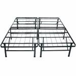 Sleep Master Platform Metal Bed Frame/Mattress Foundation, King