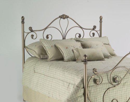 Fashion Bed Group Aynsley Queen-Size Steel Headboard/Footboard, Majestique