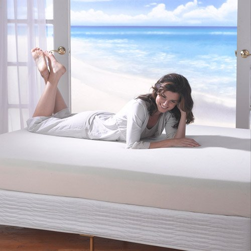 Spa Sensations 8″ Memory Foam Mattress, Size: Queen