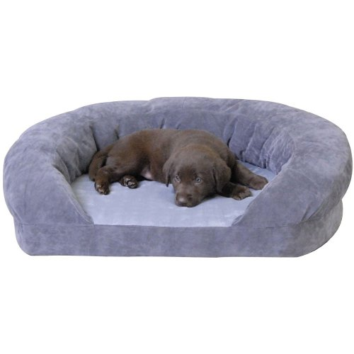 K&H Ortho Bolster Sleeper Pet Bed (Small/Gray. Cushion, Mattress, Futon