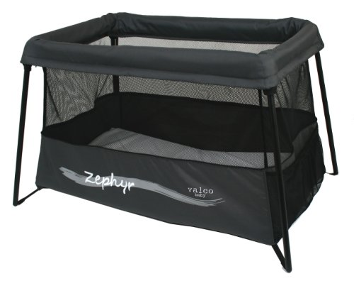 Valco Baby Zephyr Travel Crib, Breeze