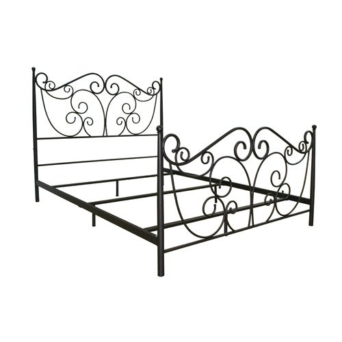 BellO B538 QUEEN Serta NTR Queen Size Metal Bed, Bronze