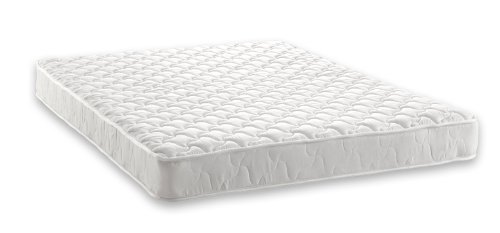 Signature Sleep Essential 6 Inch Full Mattress, White
