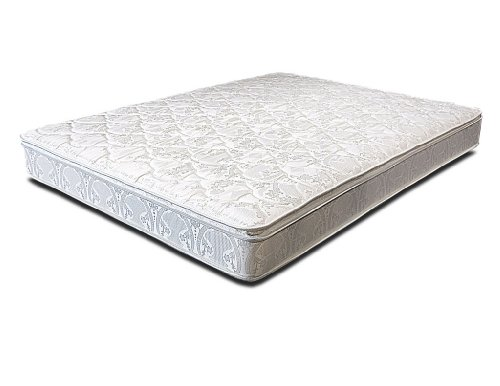 Brentwood Encore 8-Inch Quilted Pillowtop Inner Spring Mattress, Made in the USA, Queen Size